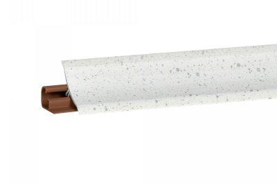 Плинтус Корнер Андромеда Белая LB-231-6050 3м (фурнитура 600 (6017) вывод