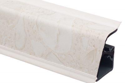 Плинтус 118 Белые камушки 605767 4,2 м
