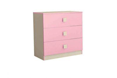 Радуга Комод 800 цвет Фламинго (Я400-3) (В)