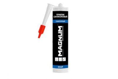 Силиконовый герметик санитарный Magnum прозрачный 280 мл (24 шт/уп)