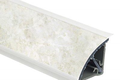 Плинтус 113 Королевский опал светл. 886U (3 м) 607118/609506 * ПОД ЗАКАЗ