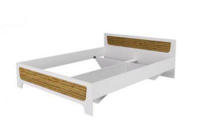 Корпус Кровать 1,6 MILANA  Белый