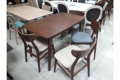 Стол CADIZ (1200+300) (Коричневый #8442)