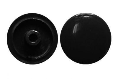Заглушка для евровин №22 черный (1000 шт/уп)