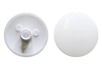 Заглушка для евровин №23 белый (1000 шт/уп)
