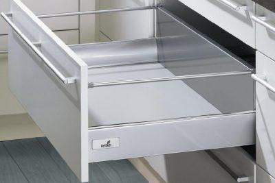 Смартбокс InnoTech 100/450 серебро (70х420) низкий  9214913/ 9228889