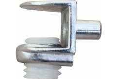 Стеклодержатель 141-15 хром (100 шт/3000шт/уп)
