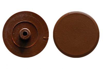 Заглушка для эксцентрика №10 орех (1000 шт/уп)