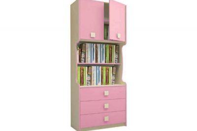 Радуга Стеллаж 800 цвет Фламинго (В 4/Я400-3)