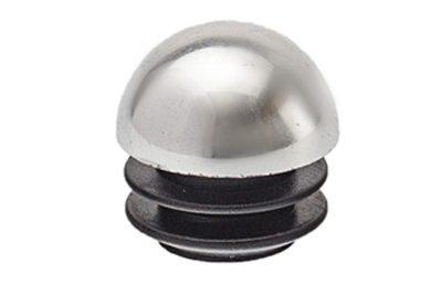 Заглушка д/трубы D25 R-17 А   сферическая, хром