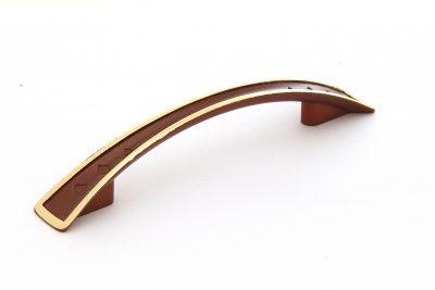 Ручка С25-60.21/96 коричневый/золото (300/уп)