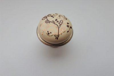 Ручка 978-5-5063F D27 старинное серебро/узор   (K) FL