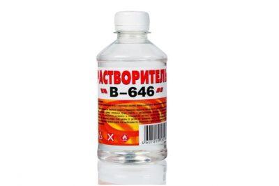 Растворитель 646 Вершина 1 л (12 шт/уп)