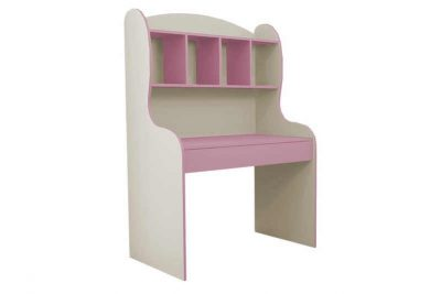 Радуга Стол рабочий цвет Фламинго (В)