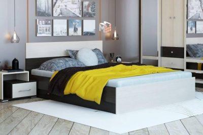 Юнона Кровать 1,6 (с настилом)