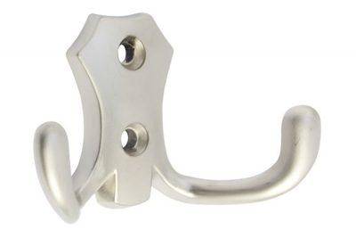 Крючок Малый 8908 хром матовый (50 шт/уп)  GLADKAYA  2