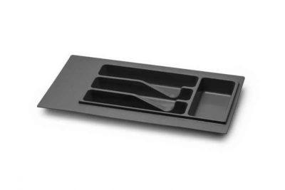 Лоток д/столовых принадлежн. М350 230х380 (270х490) серый