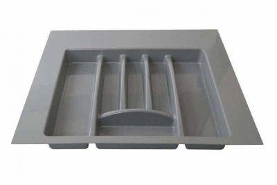 Лоток д/столовых принадлежн. М500 400х380 (440х490) серый