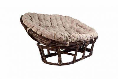Мамасан Кресло с подуш (D110) (Кофе)