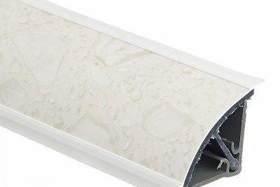 Плинтус 113 Белые камни 762U (3м) 607125
