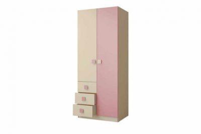 Радуга Шкаф 800 цвет Фламинго (Н 5/Я500-3)