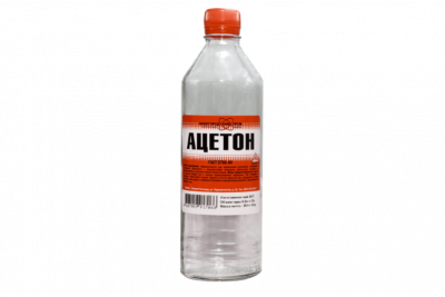 Ацетон НХП 0,5 л (25шт/уп)