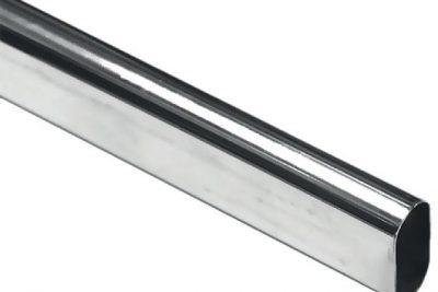 Штанга D15х30х0,7х3000мм хром овал (10/уп)