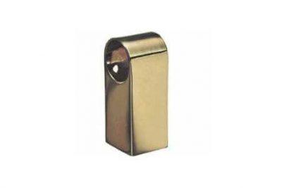 Держатель для рейлинга прямой бронза 50х20х20 мм  мм LS2802 / RAT-13 AB