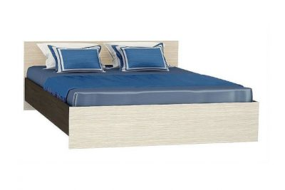 Бася КР-557 Кровать 1,4 м Дуб белф./Венге