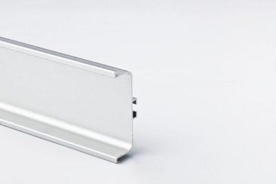 Ручка-профиль горизонтальная C, серебристый  мат 4100 / 12096921011