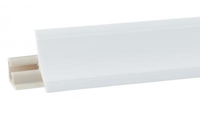 Плинтус Корнер Белый LB-23-600 3м (фурнитура 20-23-4-600)