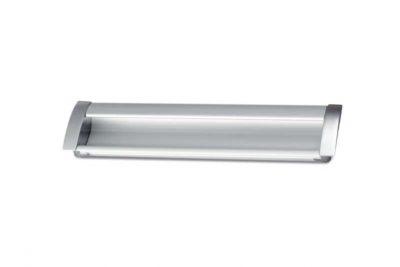 Ручка 008K-7510AF/128  врезная мат.хром / AL04 128 (25 шт/уп)  (R/K) FL