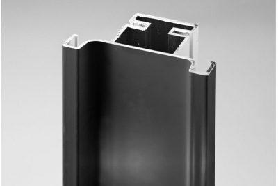 Ручка-профиль вертикальная C, черный мат  1146L / 4700 / 12099331044