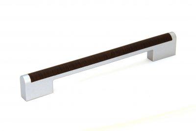 Ручка С18-50.122/128-160 матовый хром/венге (200/уп)
