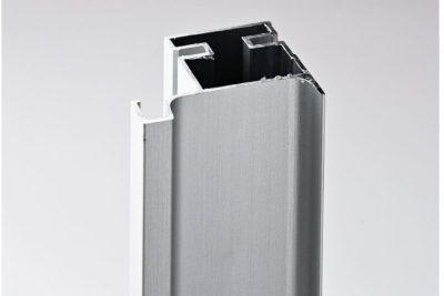 Ручка-профиль вертикальная L, серебристый  мат 011T / 4700 / 12099321011