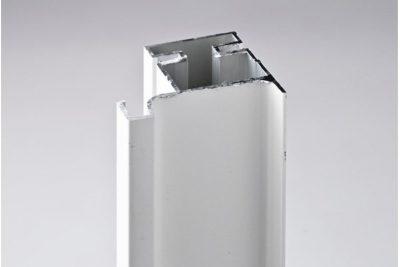 Ручка-профиль вертикальная L, белый глянец   039W / 4700 / 12099321022