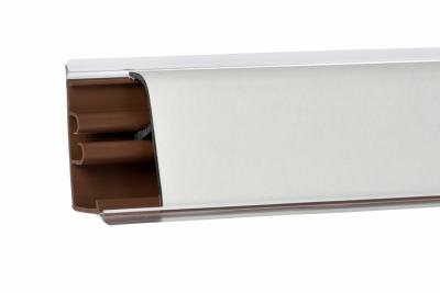 Плинтус Корнер Белый матовый LB-371-600 3м (фурнитура 476)