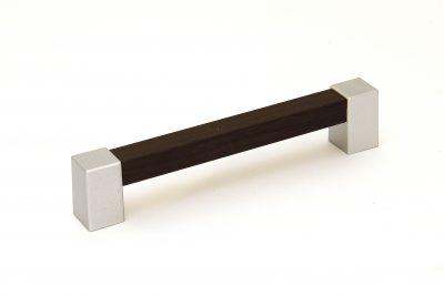Ручка С20-122.50/128 венге/матовый хром (150/уп)