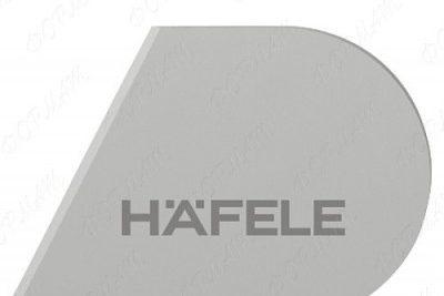 Заглушка Хефеле Free flap H 1.5 правая, белая 372.39.002
