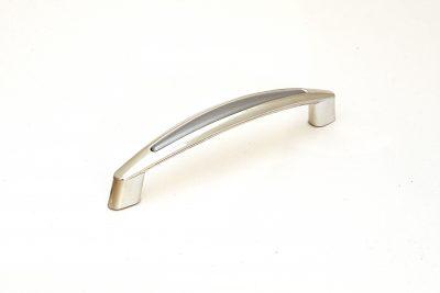 Ручка С2-22.50/128  хром/матовый хром (400/уп)
