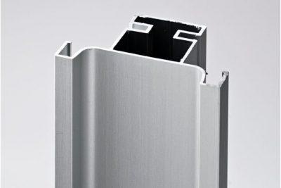 Ручка-профиль вертикальная C , серебристый  мат 011T / 4700 / 12099331011