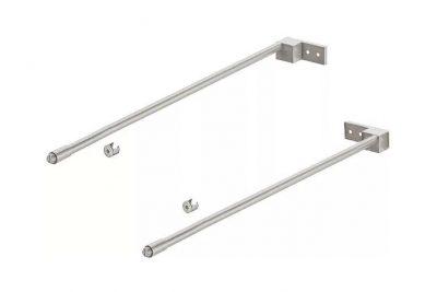 Рейлинг Хефеле Matrix Box S серый, 550 мм  552.51.526
