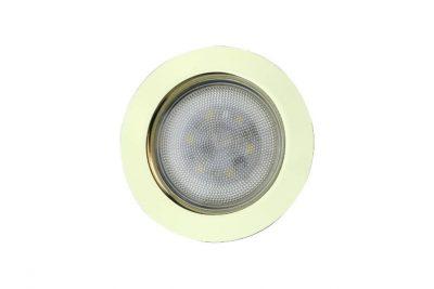 Светильник светодиод FT9228,4Вт на 220В (встроен.драйвер).золото,теплый свет,SMD5730.CH3000K