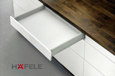 Тандембокс Хефеле Matrix Box S 35 кг, серый, 84x400 мм, soft-close  552.56.693
