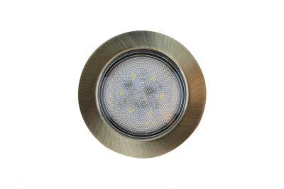 Светильник светодиод FT9228,4Вт на 220В (встроен.драйвер).антик.бронза,холод свет,SMD5730.CH4000K