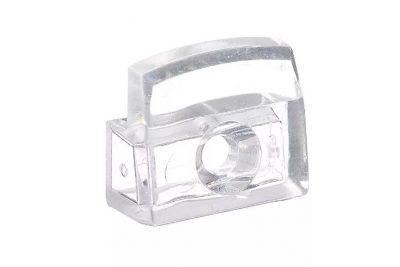 Стеклодержатель вертик.пластмас. прозрачный (1000 /уп)