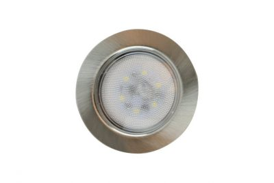 Светильник светодиод FT9228, 4Вт на 220В (встр. драйвер) сатин. никель, холод свет, SMD5730 CH4000K*
