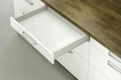 Тандембокс Хефеле Matrix Box S 35 кг, серый, 84x450 мм, soft-close  552.56.694