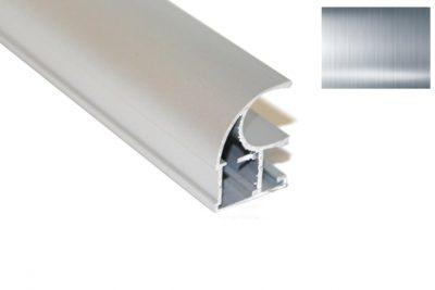 Профиль вертик. Ассим. Идеал D-2952 (B-1603P)  серебро 2,7 м