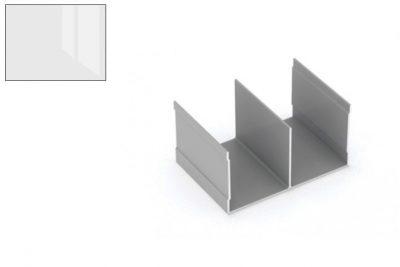 Профиль напр. Ш-образный Белый глянец 2,95 м